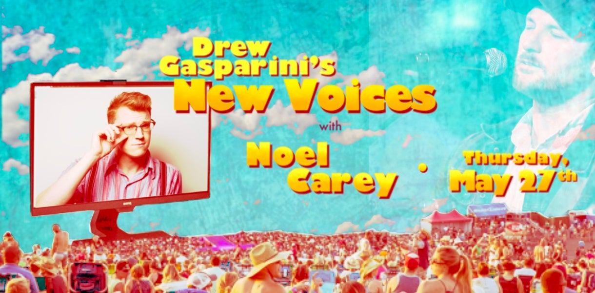 "More Info for Drew Gasparini's ""New Voices"" With Noel Carey"