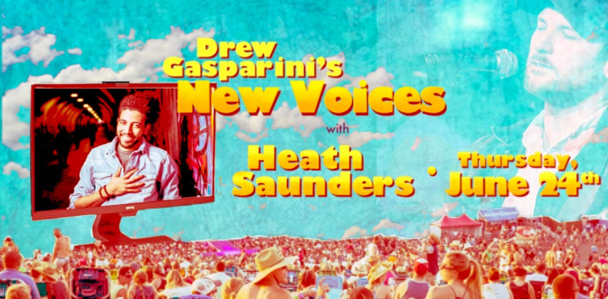 "More Info for Drew Gasparini's ""New Voices"" With Heath Saunders"