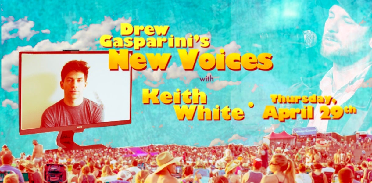 """More Info for Drew Gasparini's """"New Voices"""" With Keith White"""