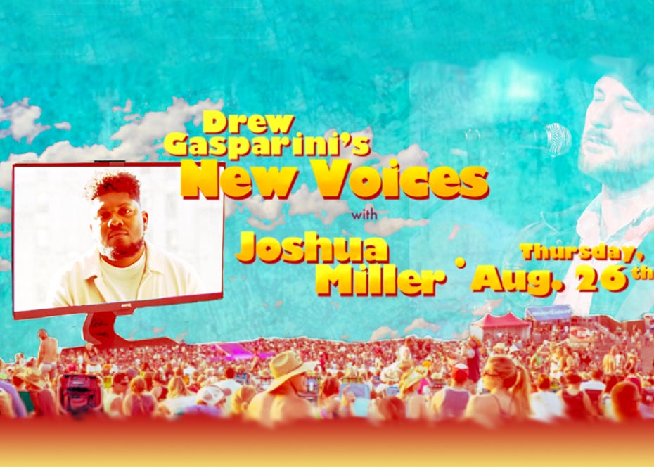 """More Info for Drew Gasparini's """"New Voices"""" With Joshua Miller"""