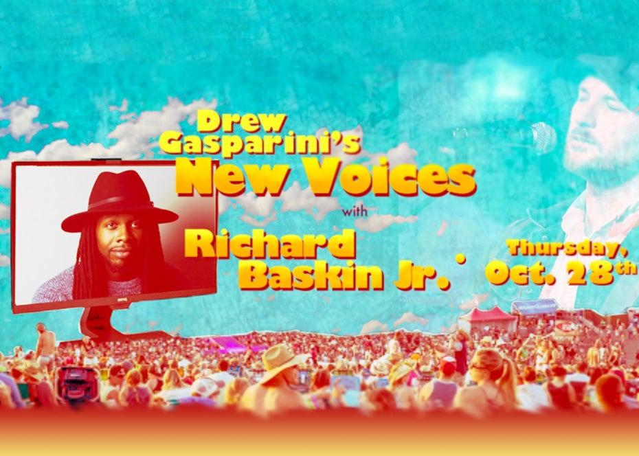 "More Info for Drew Gasparini's ""New Voices"" With Richard Baskin, Jr."