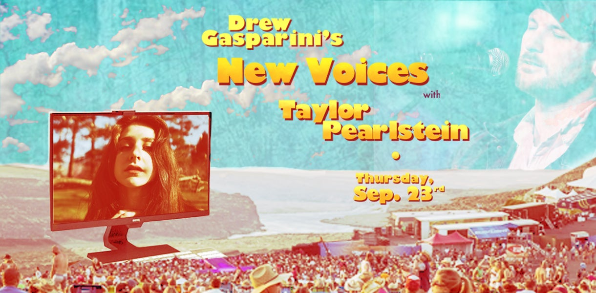 """Drew Gasparini's """"New Voices"""" With Taylor Pearlstein"""