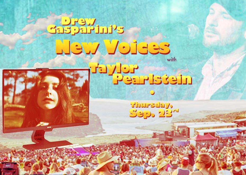 """More Info for Drew Gasparini's """"New Voices"""" With Taylor Pearlstein"""