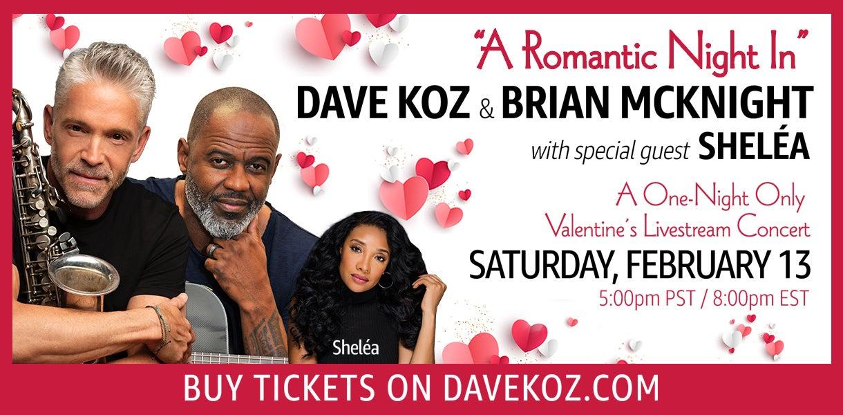 """More Info for Dave Koz & Brian McKnight """"A Romantic Night In"""""""